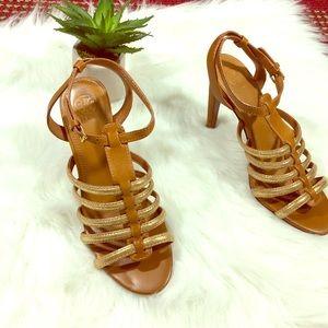 Tory Burch | charlene gladiator sandal pumps 9M